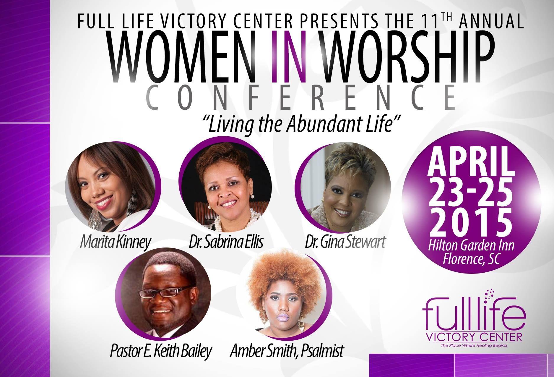 Register at www.womeninworship2015.com