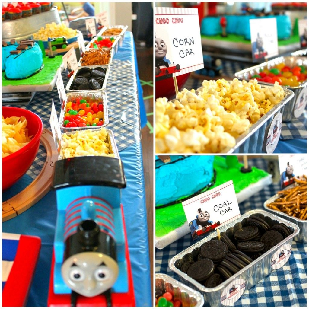 Thomas the Train Birthday Party Ideas | Birthdays