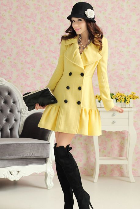 LOVE the hat, coat and boots!