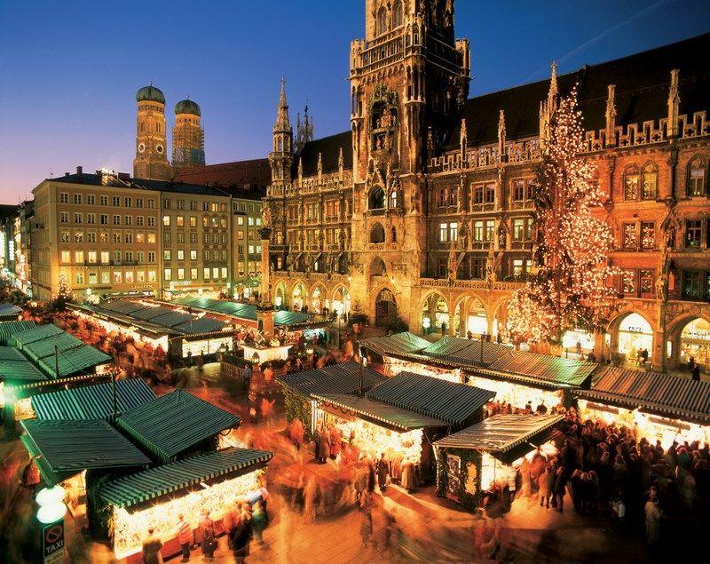 Mercado De Navidad En Munich Mercados Navideños Mercado De Navidad Lugares Para Visitar