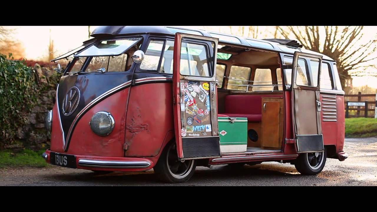 Rikki James Vw Split Screen Barndoor Samba 1954 The Video Volks Vintage Vw Bus Volkswagen Bus Bus