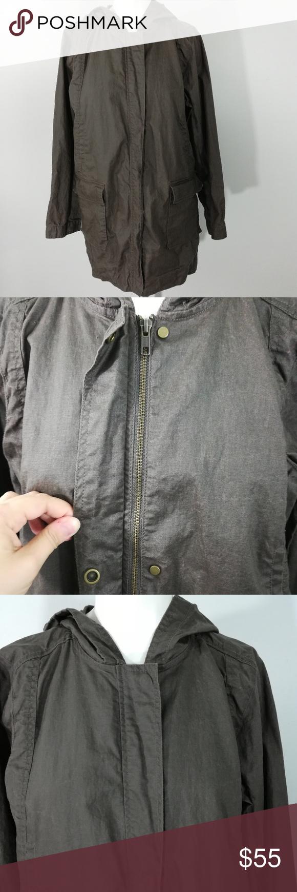 Eileen Fisher Waxed Linen Utility Jacket Size Pm Eileen Fisher Eileen Fisher Jacket Utility Jacket [ 1740 x 580 Pixel ]