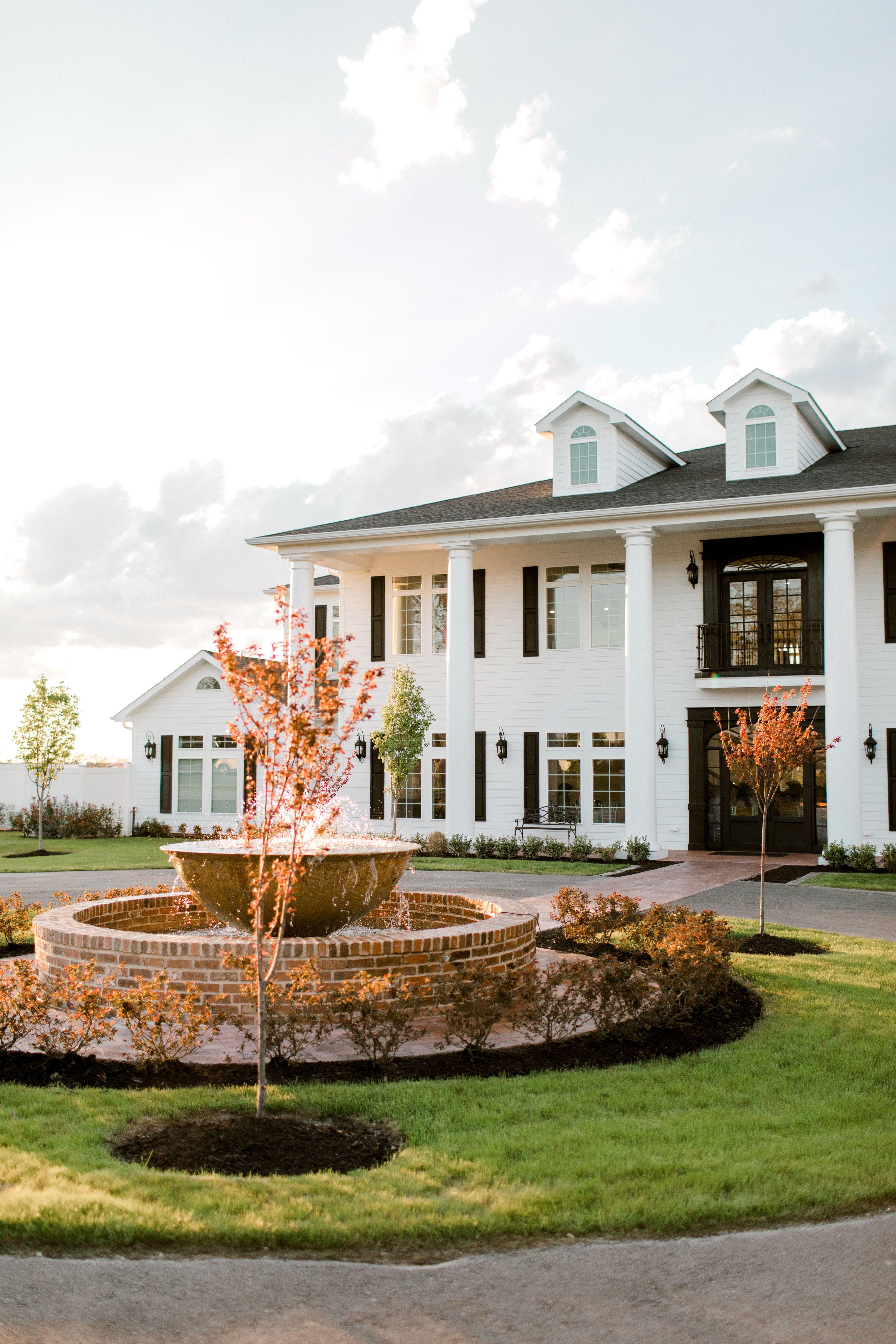Weatherford Wedding Venue | Mansion wedding venues