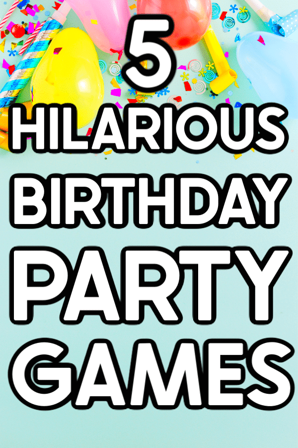 Hilarious Birthday Party Games In 2021 Birthday Party Games Birthday Party Games For Kids Girls Birthday Party Games