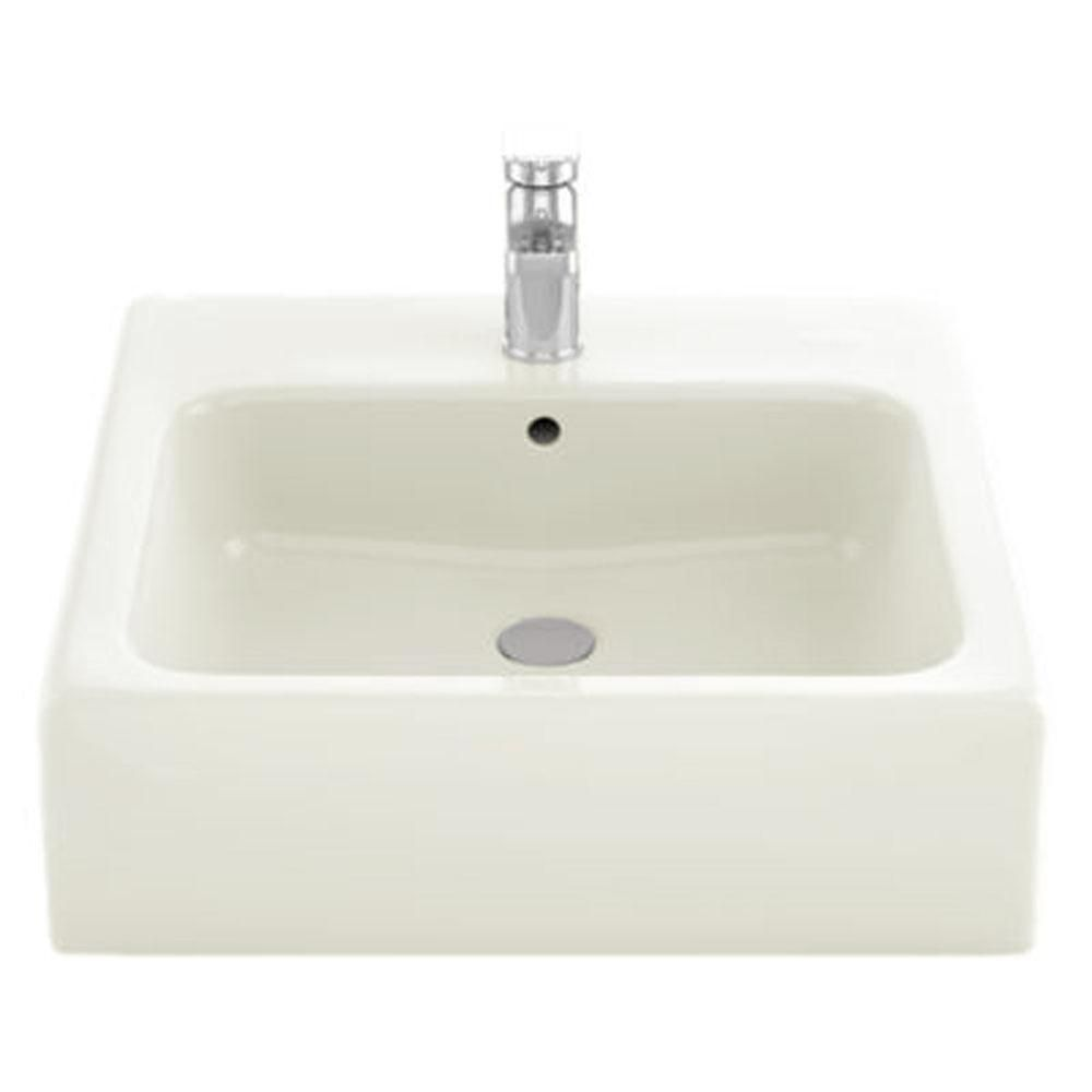 TOTO 20 in. Vessel Bathroom Sink with Single Faucet Hole and ...