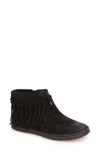 UGG® Australia 'Shenendoah' Fringe Ankle Boot (Women) available at #Nordstrom