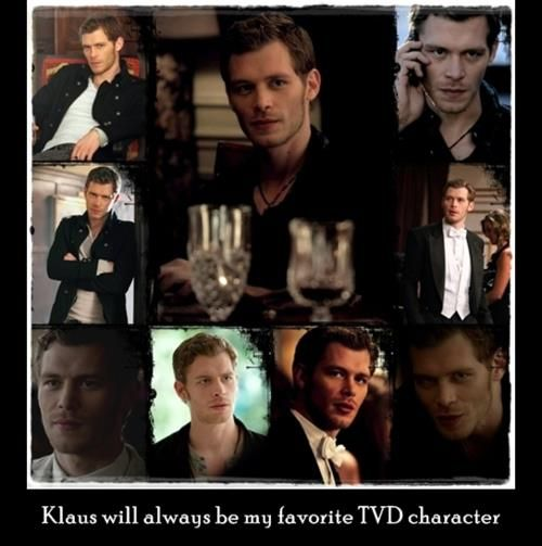 Because Klaus is just awesome