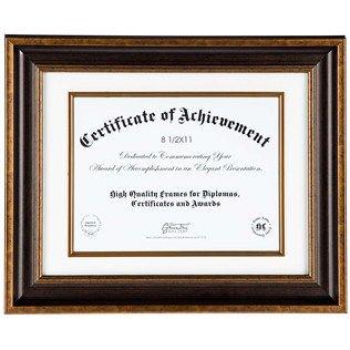 8 12 X 11 Antique Bronze Diploma Frame Frames Pinterest