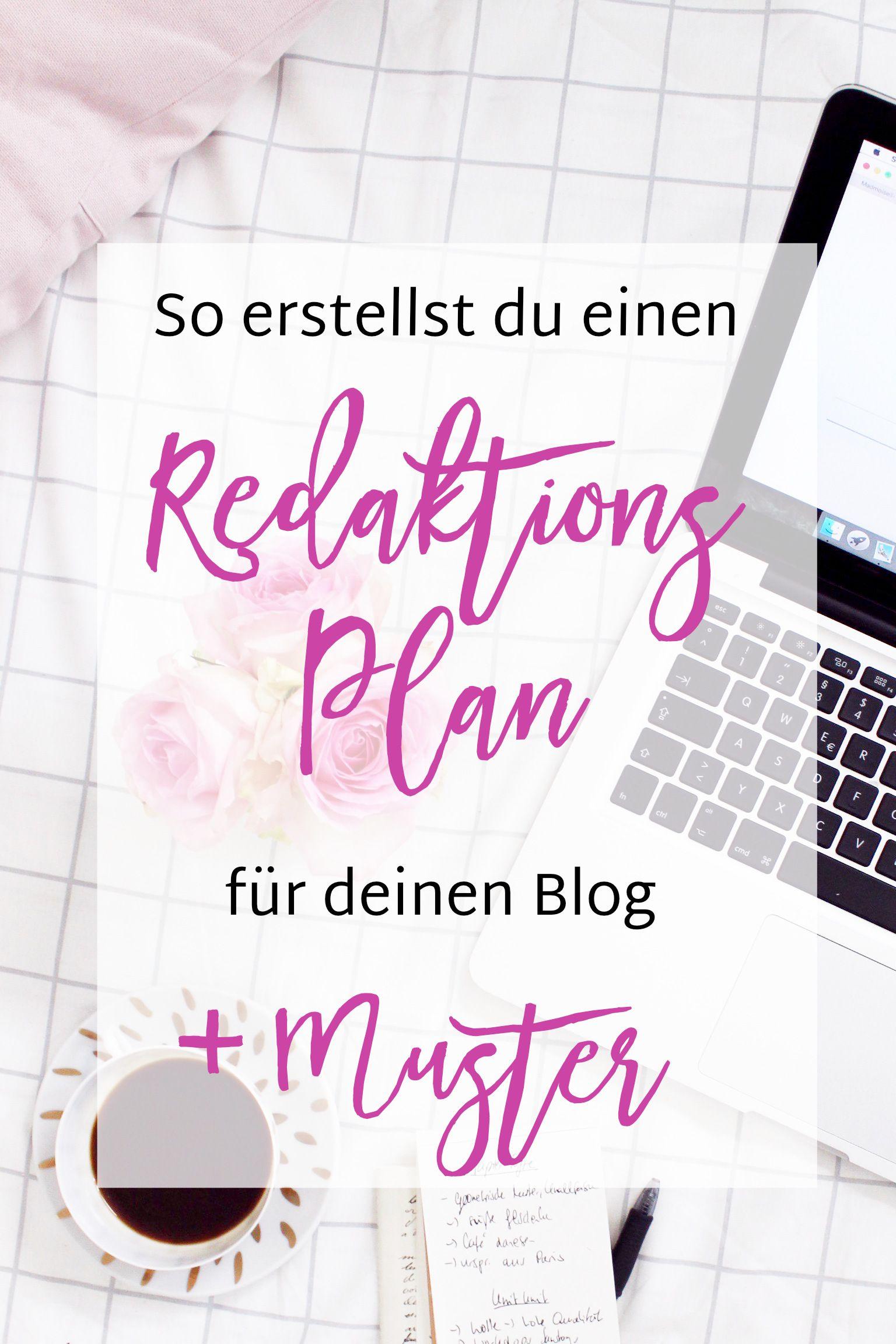 Wie Du Einen Redaktionsplan Fur Deinen Blog Erstellst Beispiel Madmoisell Diy Blog Uber Deko Mode Und Wohnen Blog Erstellen Blog Blog Starten