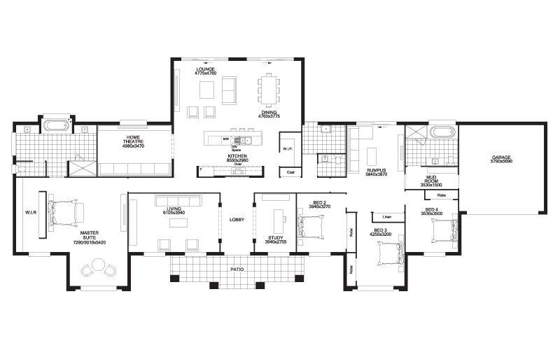 Palladian Manor Floorplan B U I L D M E U P B U T T E R C U P