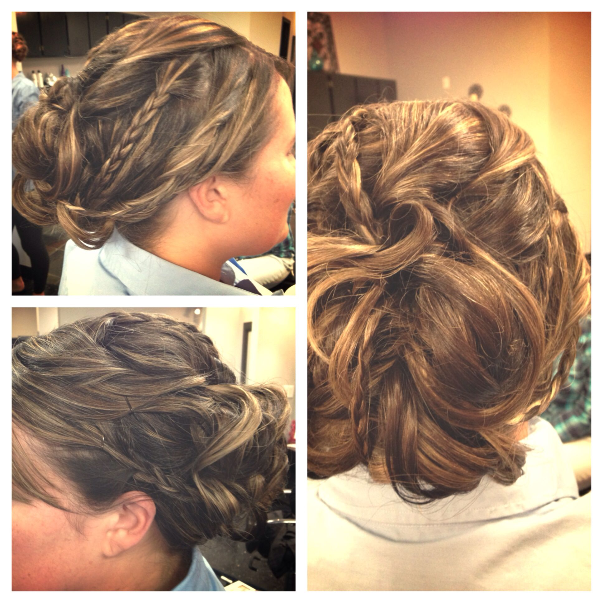 Braided updo for more info on formal styles check out our website