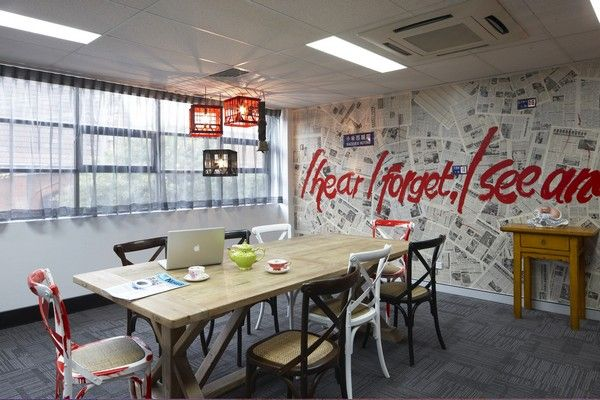 Zouk una oficina muy creativa oficinas creativas for Diseno de interiores para oficinas pequenas