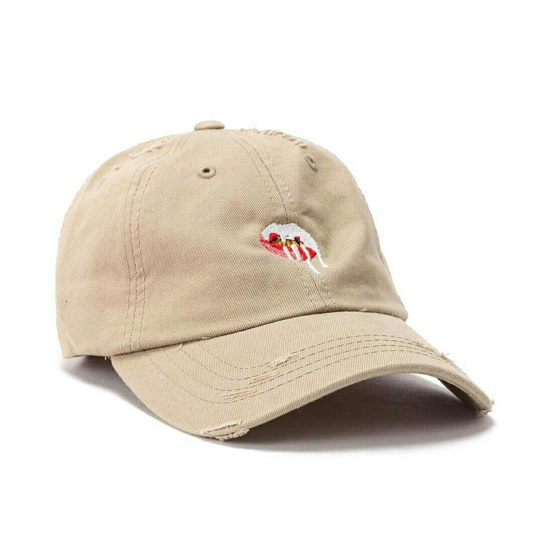c4eb4e4c663 Distressed Lips Dad Hat