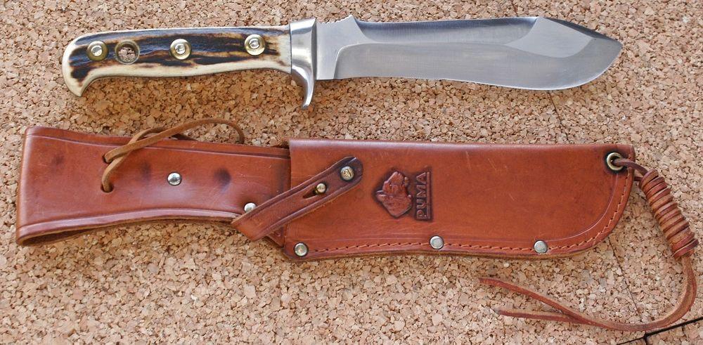 puma white hunter knife value