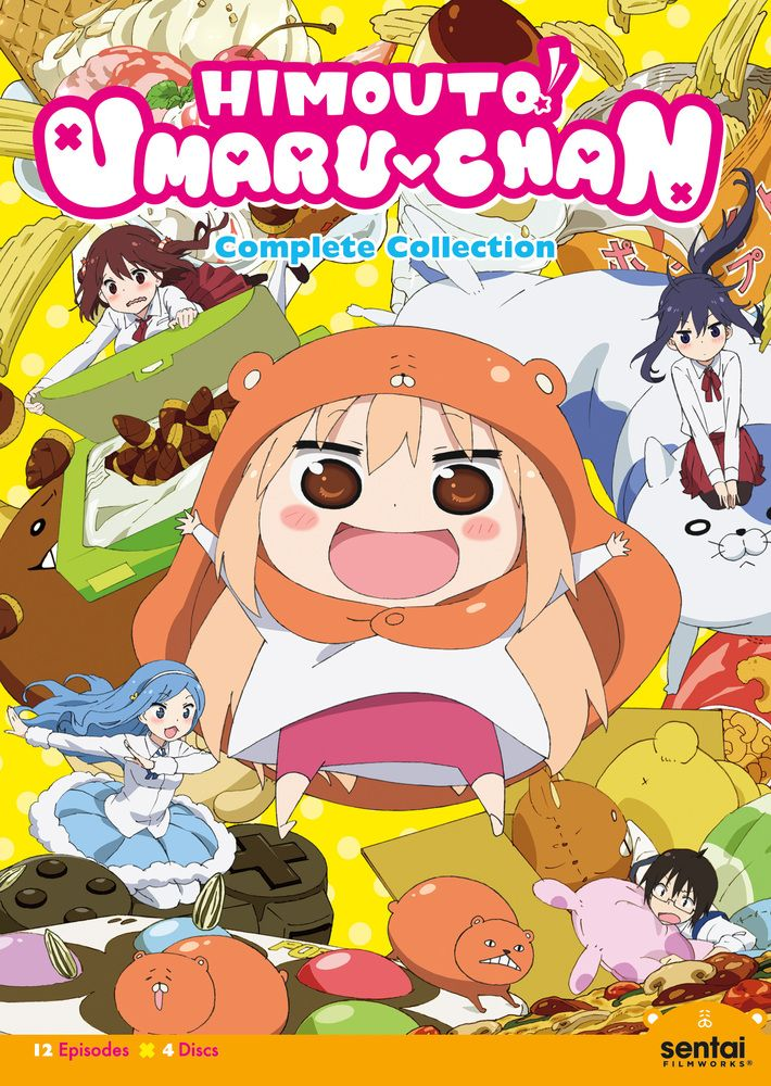 Himouto! Umaruchan The Complete Collection [4 Discs