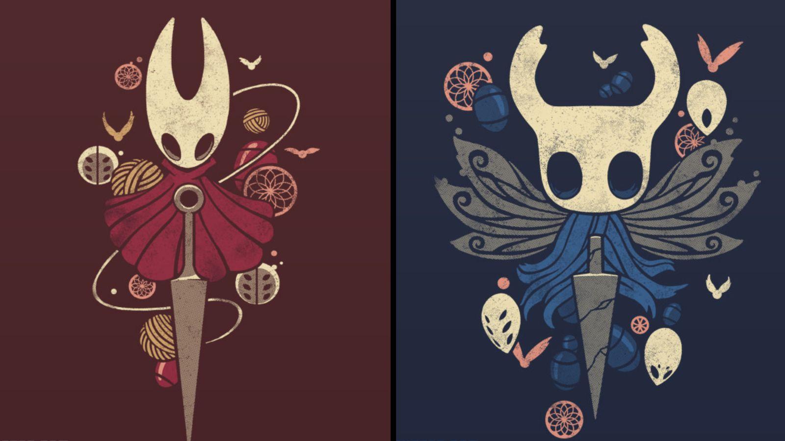Hollow Knight And Hornet Knight Tattoo Hollow Art Knight Art