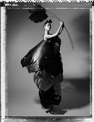 If It's Hip, It's Here: And You Thought Origami Was Impressive: Paper Fashions By Zoe Bradley
