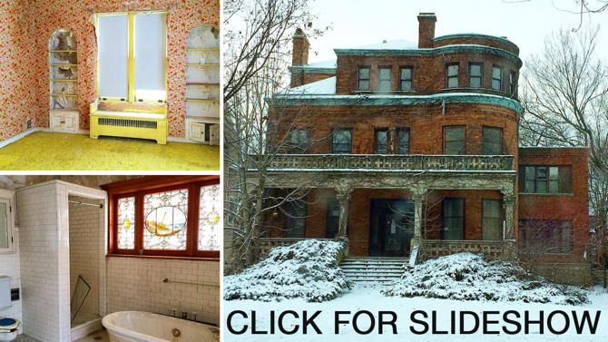 a place to park your wienermobile rundown oscar mayer mansion is for sale january 9 2015. Black Bedroom Furniture Sets. Home Design Ideas