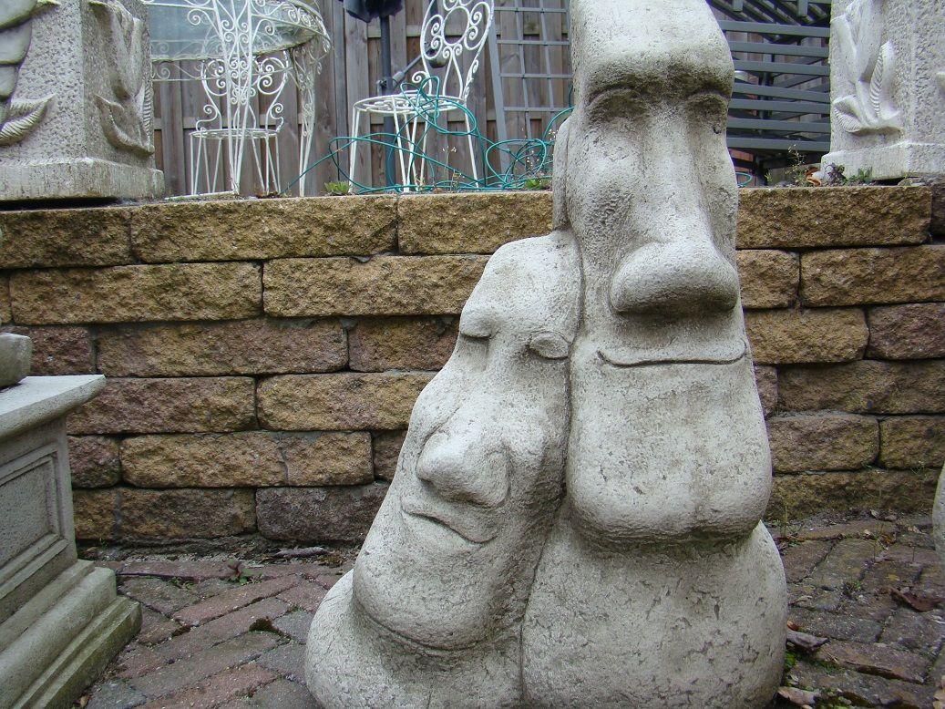 Statue: Twin Easter Island.