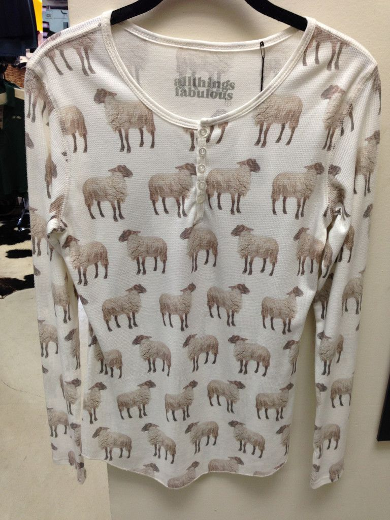 AllThingsFabulous: Sheep Long Sleeve Shirt