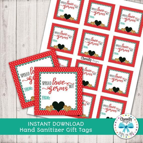 Christmas Gift Tags Download 6 Versions Diy Holiday Gifts
