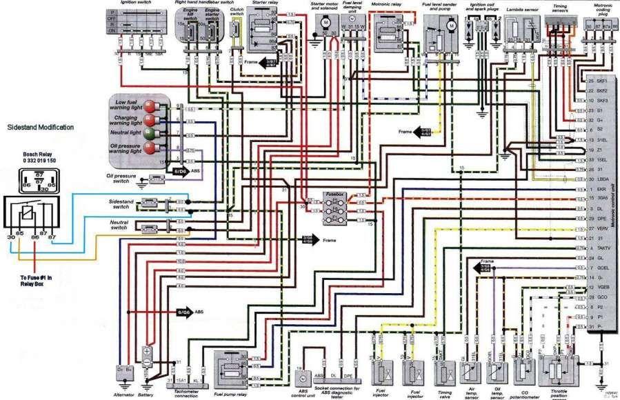 bmw ignition wiring diagram