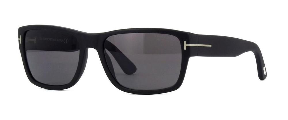 07671bae1ab5 TOM FORD MASON TF 445 02D Matte Black POLARISED Sunglasses Sonnenbrille  Size 56 (eBay Link)