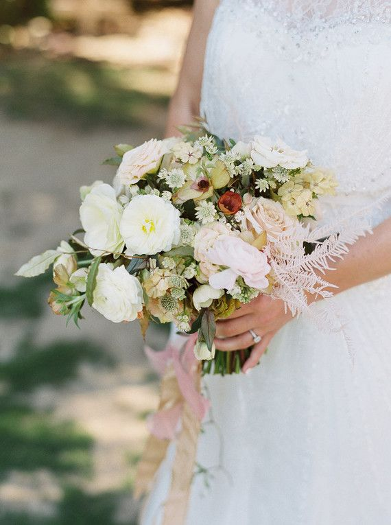 Bridal bouquet wedding roses registry office