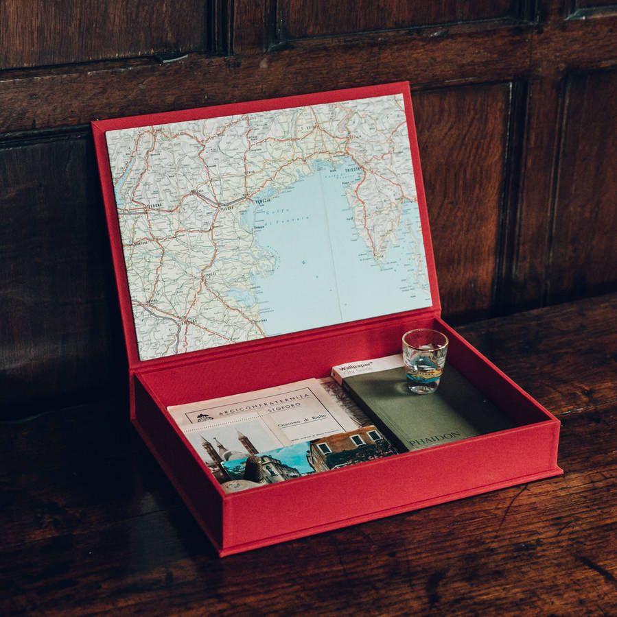 Travel Keepsake Box Travel Keepsakes Keepsake Boxes Vacation Memory Box