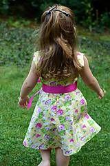 Detské oblečenie - Dievčenské šaty - Hríbik - 5714091_