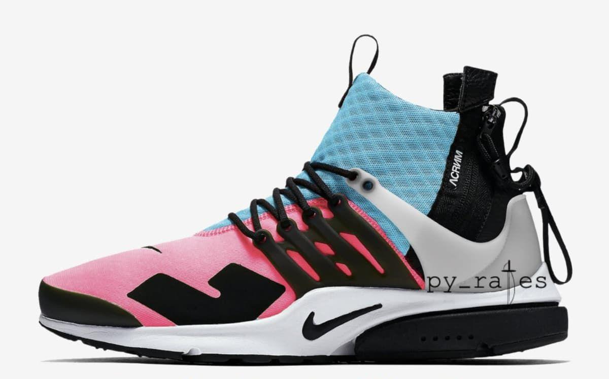 Acronym x Nike Presto Mid 2018 Collaboration | Sole