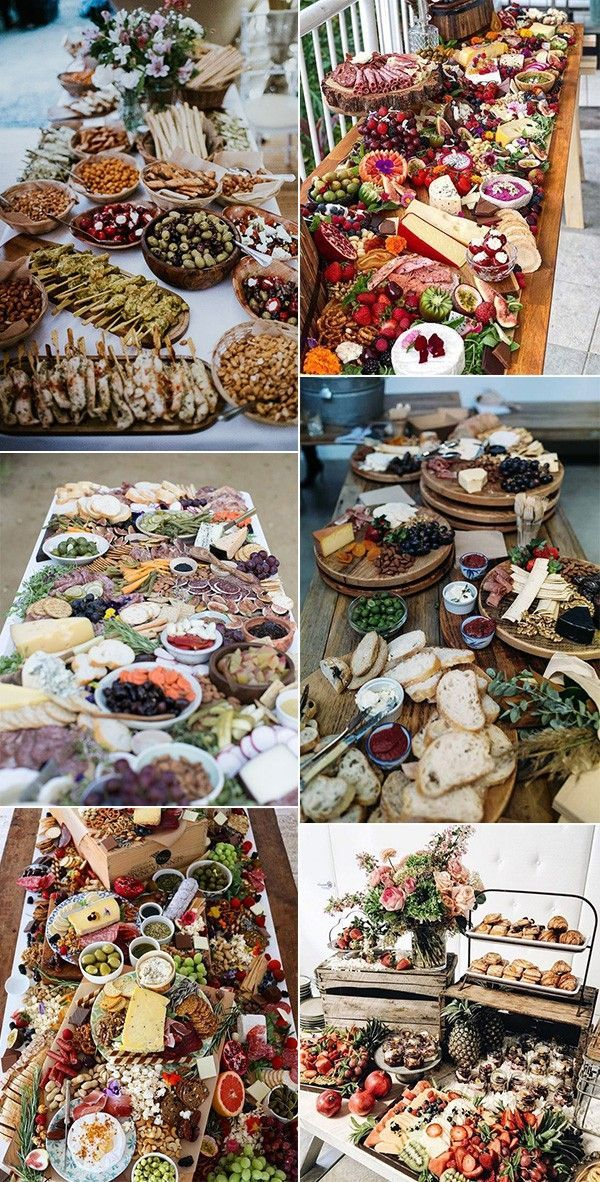 Trending 10 Epic Wedding Charcuterie Table Food Ideas for