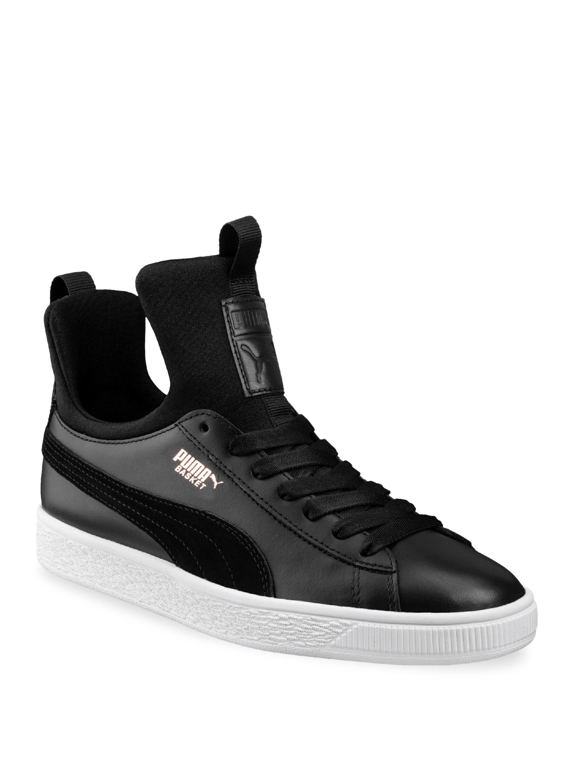 64ea0279efc54 Puma Basket Fierce Sneakers - Black 36 (6) in 2019
