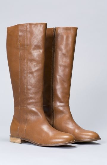 de5dc153b Oslo Tall Women's Leather Boot   Elk   Elk   Boots, Leather boots ...