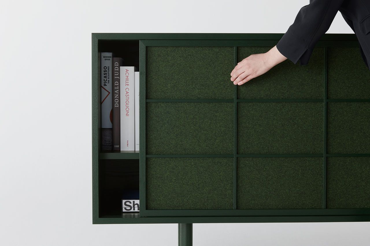 The Lattice cabinet