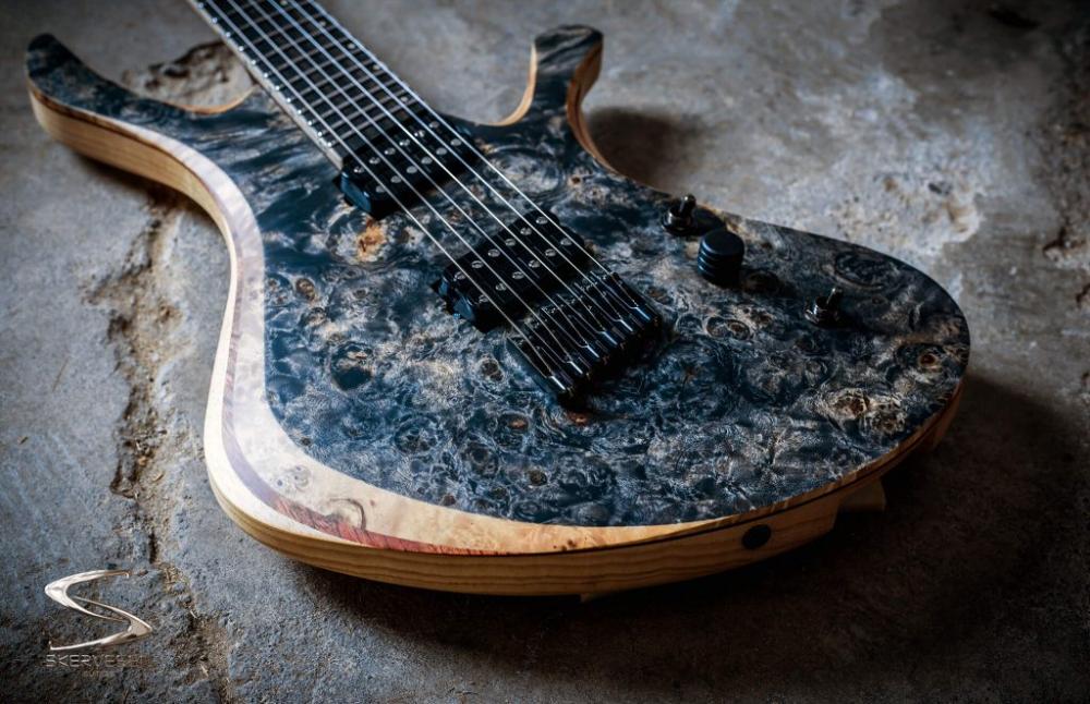 Swan 6 Skervesen Custom Guitars Guitar Custom Guitars Custom Electric Guitars