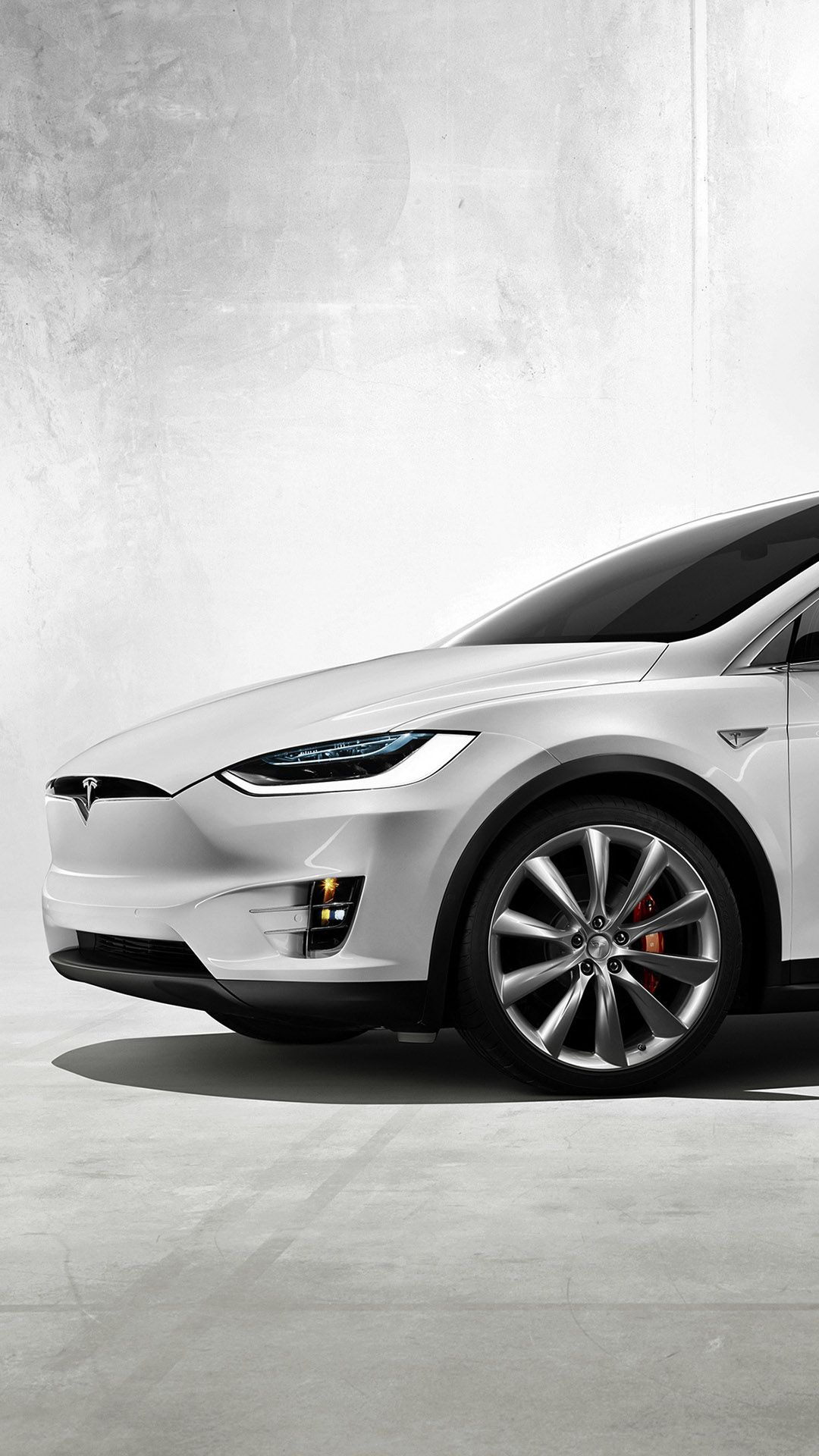 2016 White Tesla Model X Front View Iphone 6 Hd Wallpaper Cuteiphonewallpaperstumblr Iphon Tesla Model X Model X White Tesla Model X