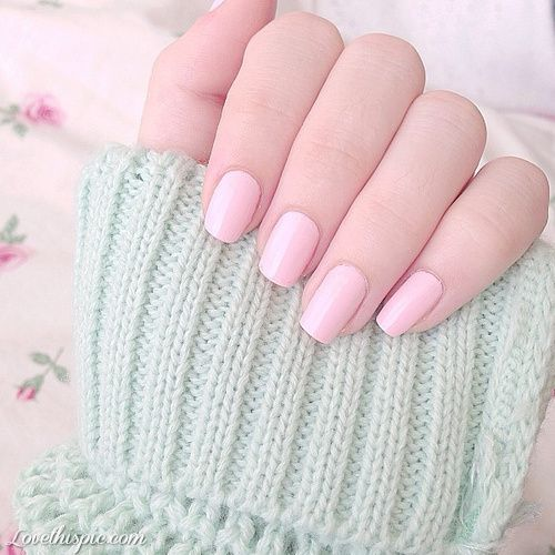 Powder Pink Nails Pictures, Photos, and Images for Facebook, Tumblr, Pinterest, and Twitter