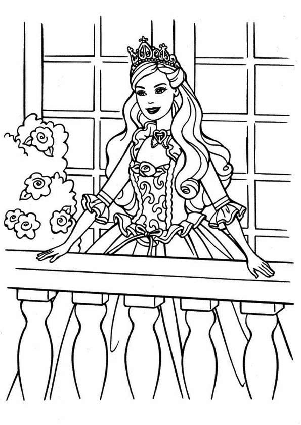 print coloring image | Barbie - Coloring Pages | Pinterest