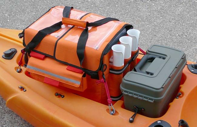 Best fitting tackle box for the Ocean kayak