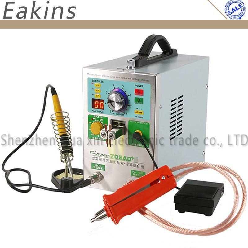 709AD+ 4 IN 1 Welding machine fixed pulse welding constant