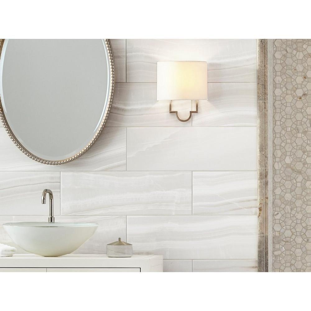 Onyx II Polished Ceramic Tile - 8 x 24 - 100506039 | Floor and Decor ...