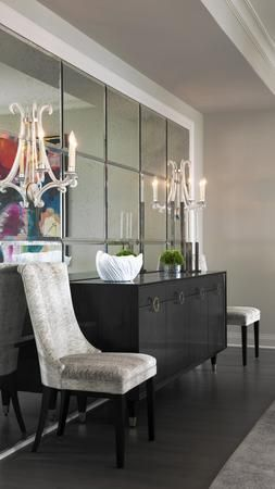 Creating a glamorous city apartment with a romantic twist