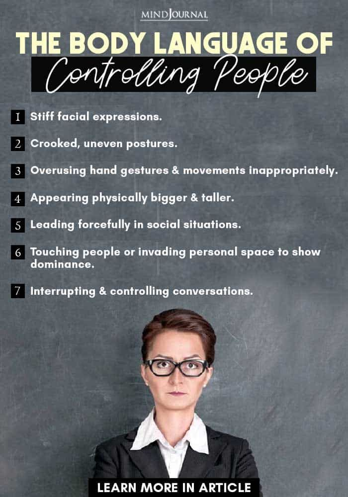 The Body Language Of Controlling People: 26 Signs of