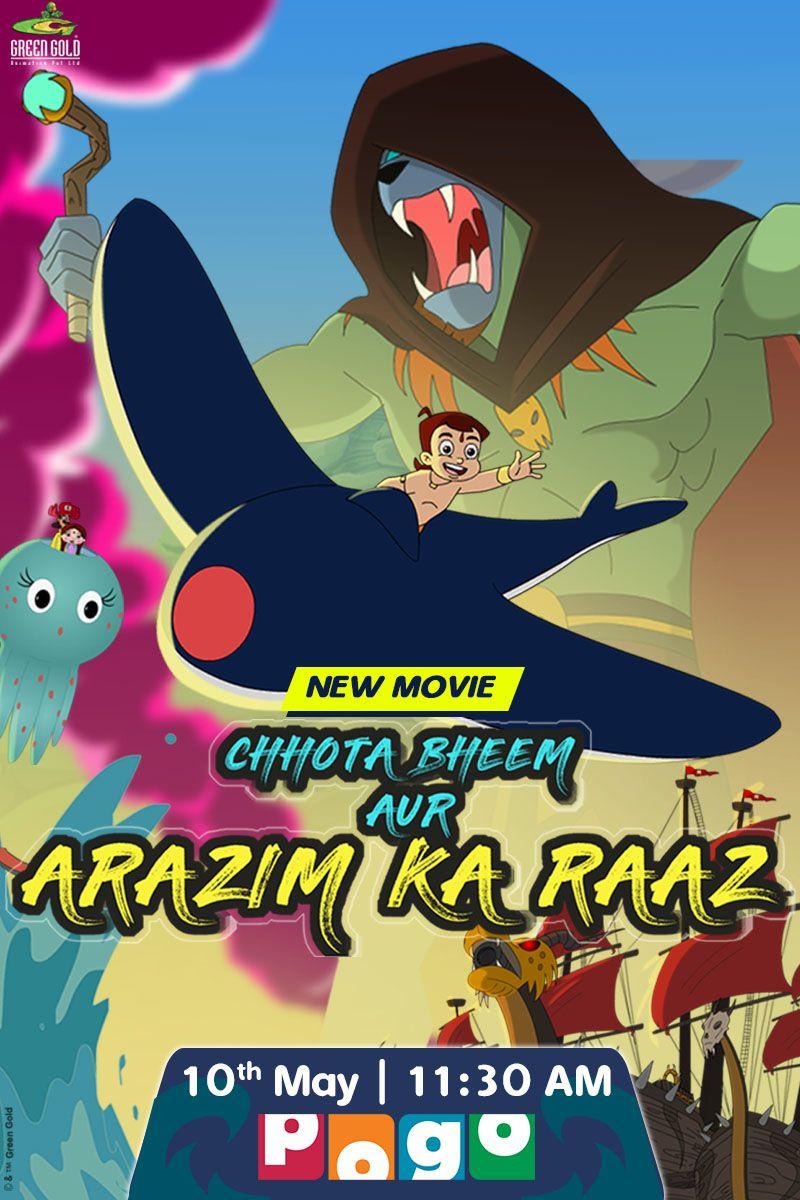 Chhota Bheem Aur 'Arazim Ka Raaz in 2020 | Best kid movies, New movies to  watch, Kid movies