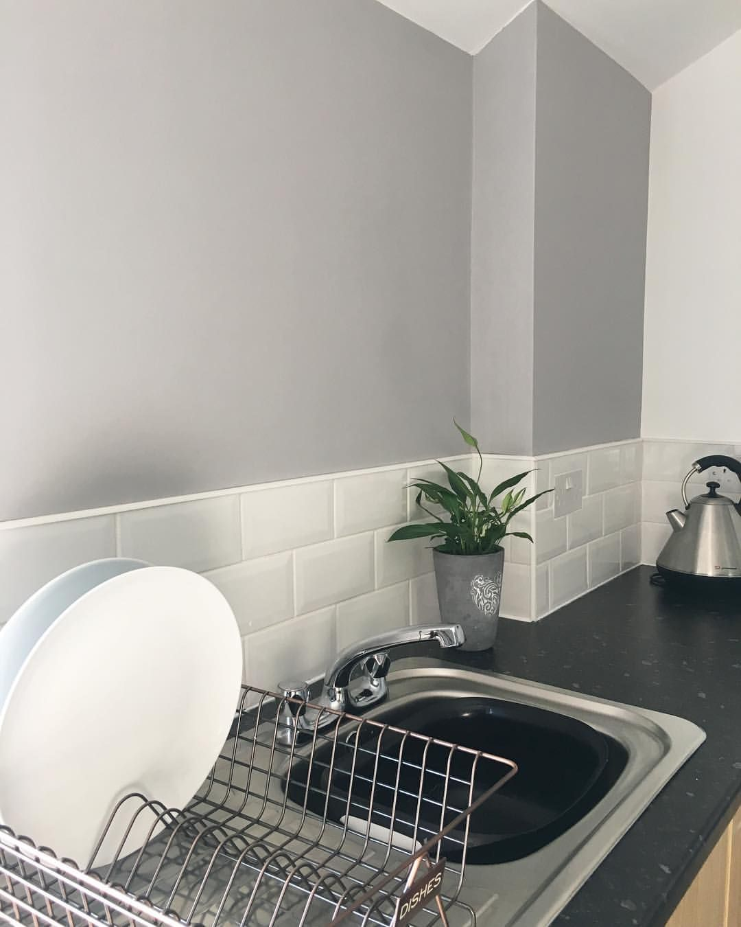 Dulux Chic Shadow Grey Painted Kitchen Chic Shadow Dulux Living Room Dulux Chic Shadow