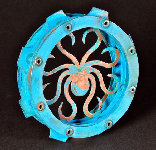 "Octopus by Tyler Palsrok | ""The Ghost in the Machine"" 
