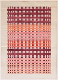 Untitled design for textile by Benita Koch-Otte