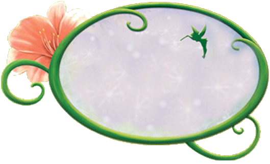 Green Kids Transparent Frame With Fairy Tinkerbell Pictures Tinkerbell And Friends Tinkerbell