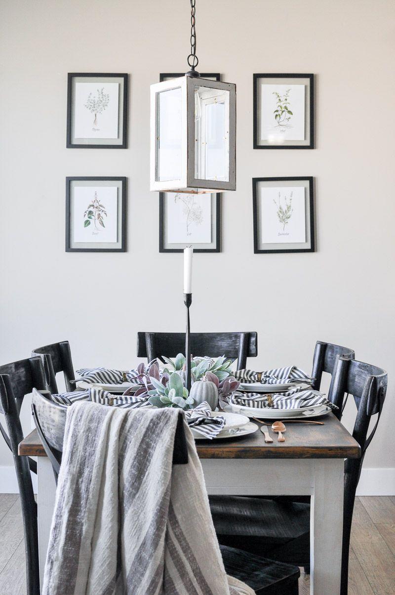 Last Minute Thanksgiving Tablescape   Bloggers\' Best DIY Ideas ...
